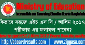 HSC / Alim 2017 Exam Results