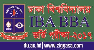 DU IBA BBA Admission Test Circular 2017