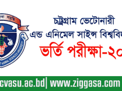 Chittagong Veterinary Admission Test Circular 2017