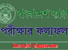 BB Officer (General) MCQ Exam Result 2018