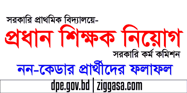 DPE Head Teacher Posting Result by BPSC