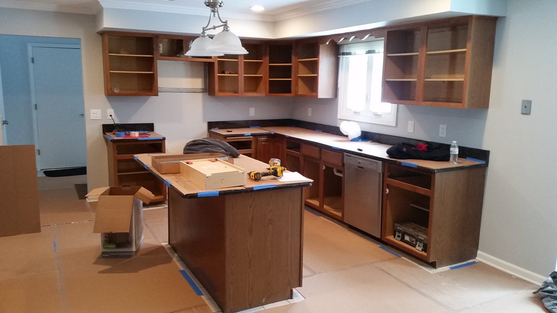 kitchen reface combo ziggy s kitchens llc home page of nj finest denville before