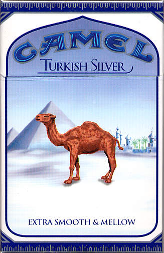 My brand of choice:  Camel Turkish Silvers