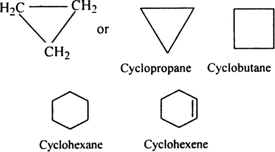Discuss the rules for naming alicyclic compounds. from