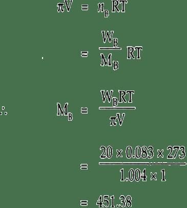 An aqueous solution of 2% non-volatile solute exerts a