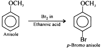 Write equations of the following reactions:Bromination of