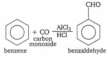 The synthesis of crotonaldehyde from acetaldehyde is an
