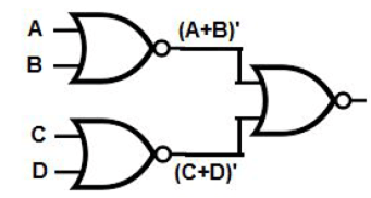 Draw the Logic Circuit of the following Boolean Expression