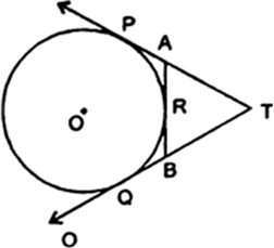 In Figure 7, TP and TQ are tangents from T to the circle