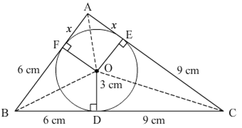 In the given figure, PQ is a chord of a circle with centre