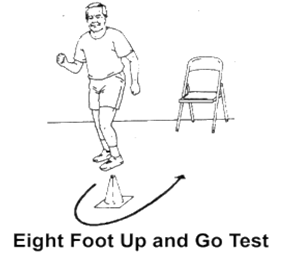 Which Test is used to measure the coordination and Agility