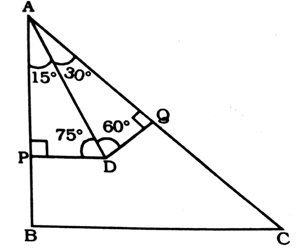 In ΔABC, D and E are points on AB and AC respectively such