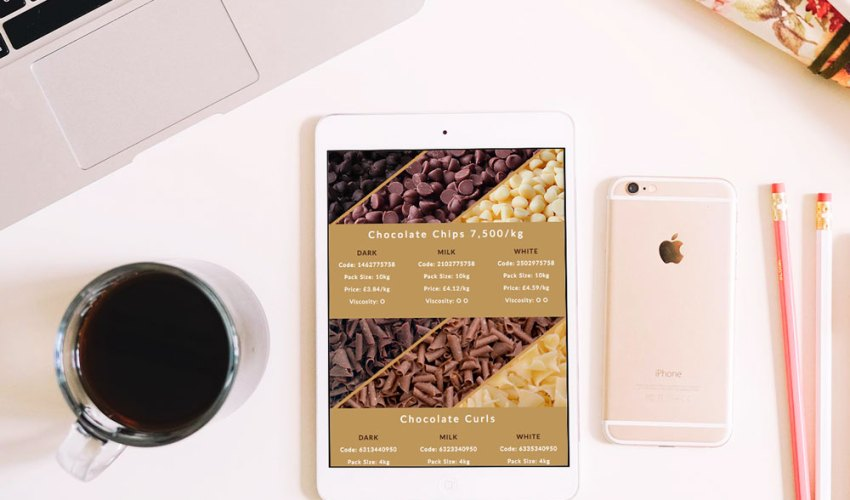 Responsive Chocolate E-Shot for Orchard Valley Foods