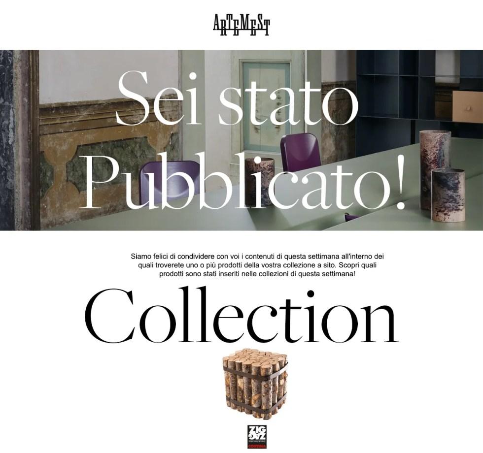 Artemest Collection zigzag Cortina, Arredare è l'arte di disporre le cose belle in modo confortevole e intrigante