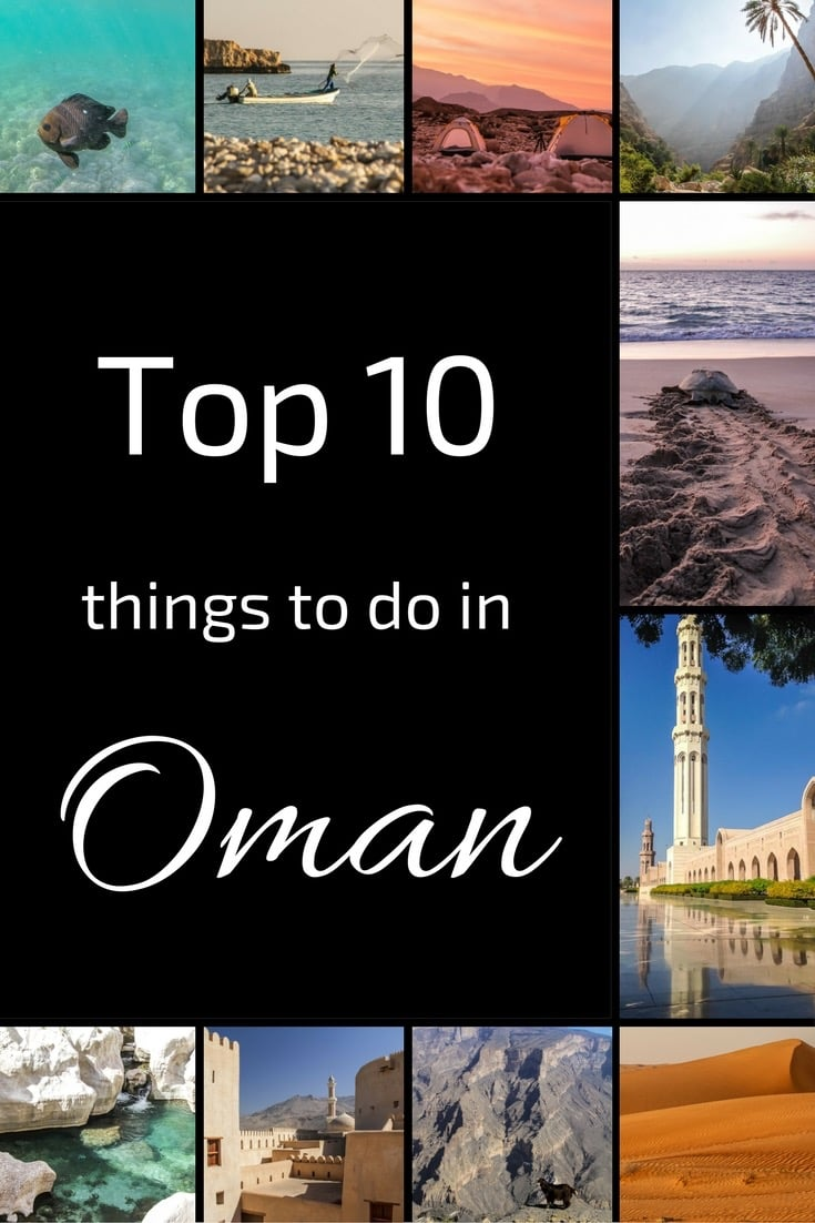 Top 10 things to do in Oman  Photos  Tips Unforgettable Scenery