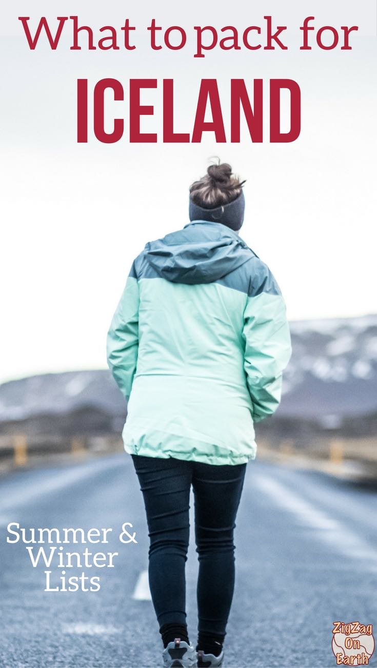What to pack for Iceland - Winter + Summer Lists (incl. Boots, Coats...)