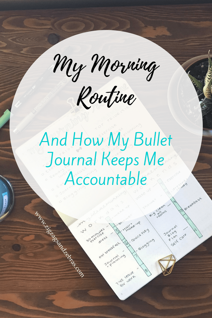 Morning Routine - My Morning Routine - Bullet Journal - Bujo - Routine - Planning - Productivity - Organization