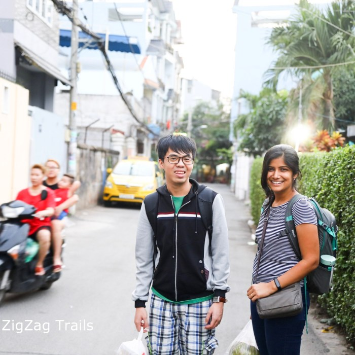 Our Couchsurfing experience in Saigon.