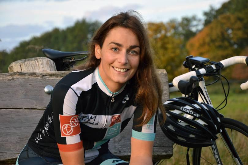 Janneke Scheepers van wielerblog Zijwielrent.nl