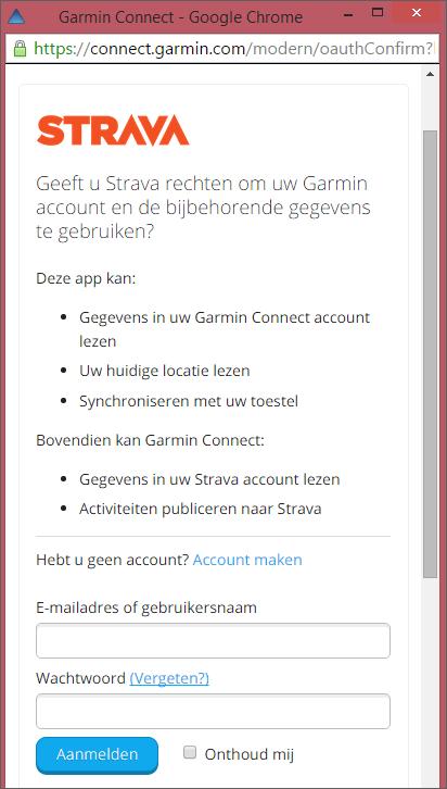how to connect strava live segment to garmin 520