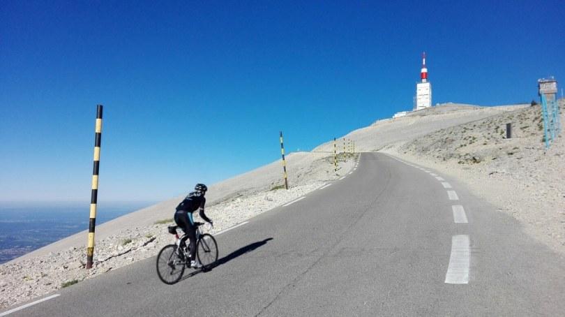 Mont Ventoux zijwielrent