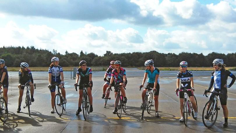 Vrouwen fietsgroep