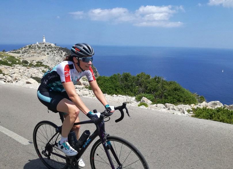 Porte Formentor op Mallorca, fietsen langs de kust
