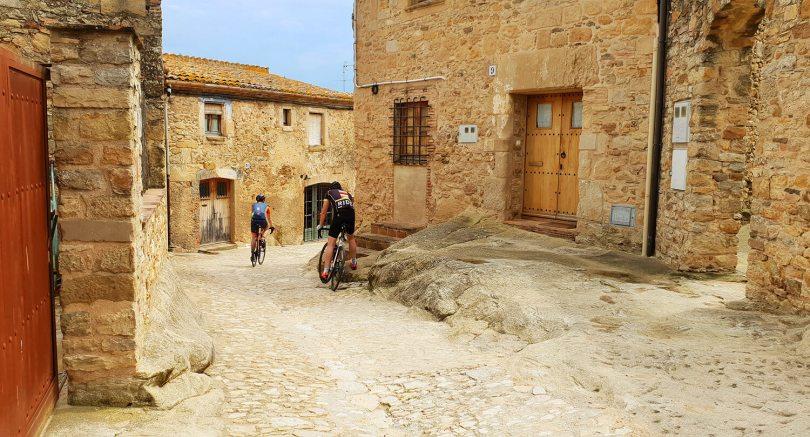 Oude stadjes bij Girona