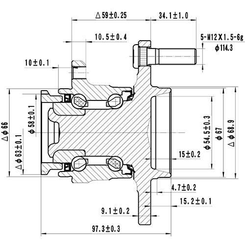 Z89278R — ZIKMAR — Wheel Hub — Zikmar