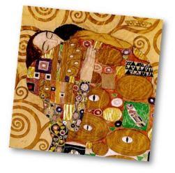 L'arbre de vie Klimt arts visuels exploitation
