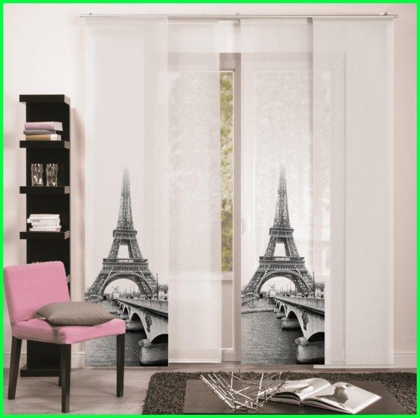 Flchenvorhang Schiebegardine PARIS Digitaldruck