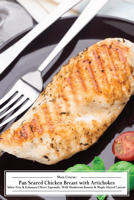 Pan Seared Chicken Breast recipe