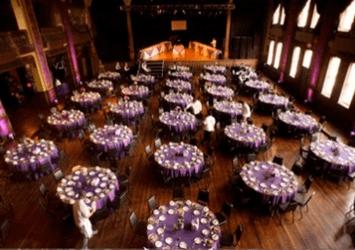 Event set up at Turner Hall
