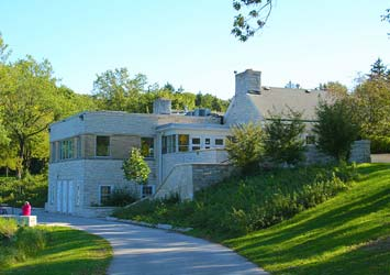 Ouside view of the Greenfield Park Pavilion