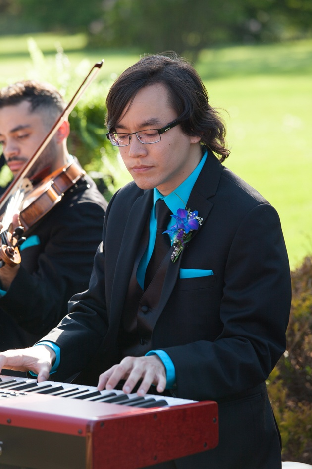 Music at the Wedding Ceremony pianist string orchestra