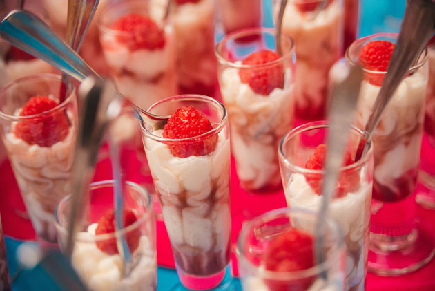 raspberry cheesecake shooter
