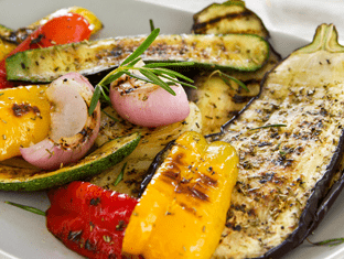 Buffet side - grilled vegetables