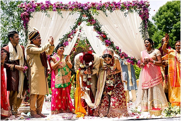 Indian Wedding in Milwaukee at Boerner Botanical Gardens
