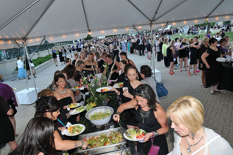 Corporate Event Outdoor Buffet