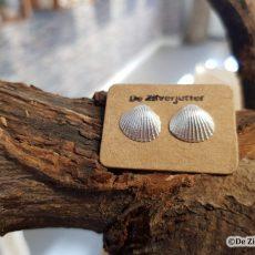 Zilveren oorstekers met kokkeltje