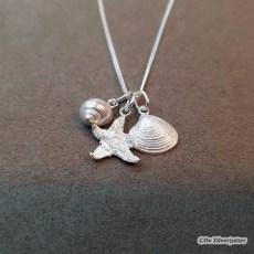 setje-1_schelpenhangers alikruik-zeester-venusschelp met ketting