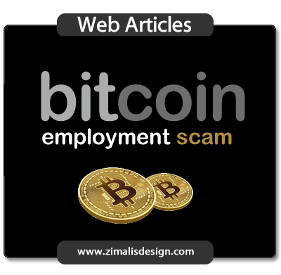 The Bitcoin Employment Scam