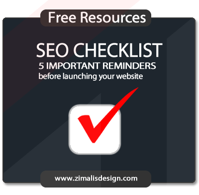 SEO Checklist: 5 important reminders before launching your website