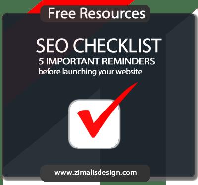 Free Resources: SEO CHECKLIST