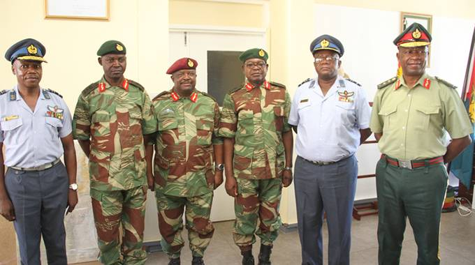 Image result for mnangagwa retires generals
