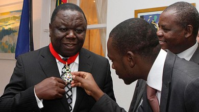 Photo of Tsvangirai blamed for Chamisa's mess