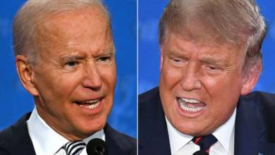 Photo of US election: Trump loses to Biden in town hall TV ratings war