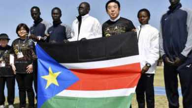 Photo of Sudanese students stranded in Zimbabwe and Cuba