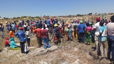 Photo of Drama as 1000 Chitungwiza council workers invade land