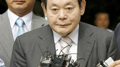 Photo of Samsung Electronics chairman dies